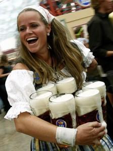 vrouwen drinken ook bier