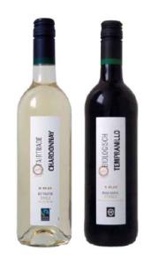 Biologische wijn plus
